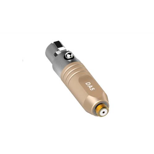 Deity Lavalier Series DA5 Microdot Adapter for W.Lav Beige