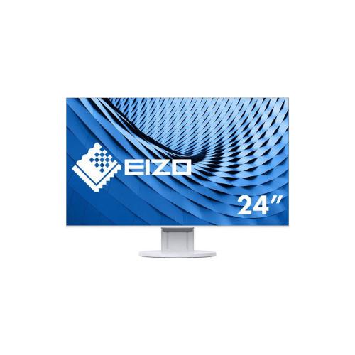 """EIZO EV2451-WT - monitor LCD 23.8"""" z regulowaną stopką (biały)"""