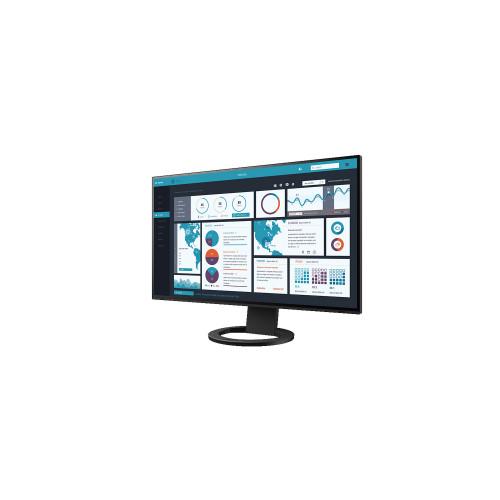 """EIZO EV2795-BK  - monitor LCD 27"""" z daisy chain z USB-C i kartą sieciową (czarny)"""