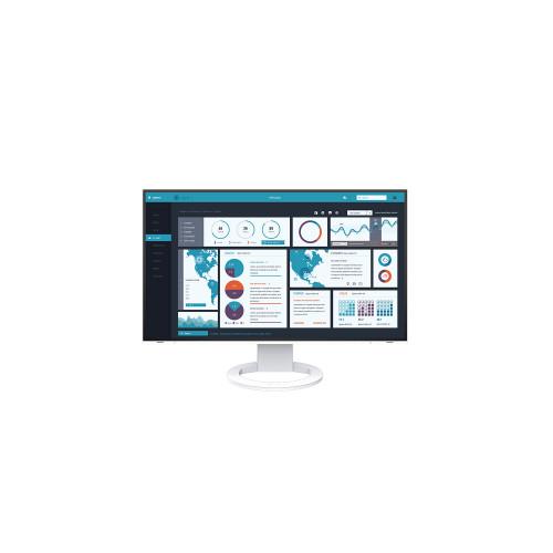 """EIZO EV2795-WT - monitor LCD 27"""" z daisy chain z USB-C i kartą sieciową (biały)"""