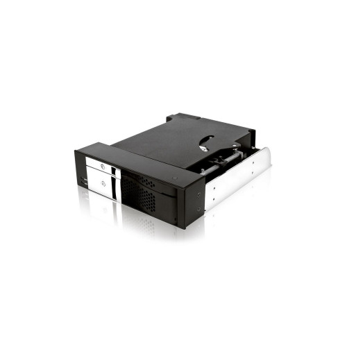IcyBox (IB-170SK-B) kieszeń wewnętrzna 5,25 na Dysk SATA 2,5 i SATA 3,5