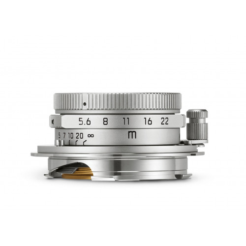 LEICA SUMMARON-M 28 f/5.6, silver chrome finish