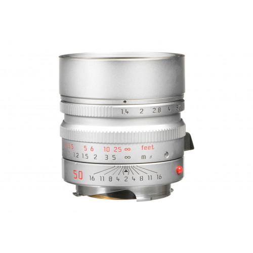 LEICA SUMMILUX-M 50 f/1.4 ASPH., silver chrome finish