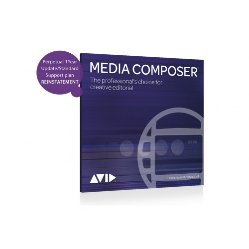 Media Composer REINSTATEMENT ESD with 1 yr Support Plan (9938-30954-00)