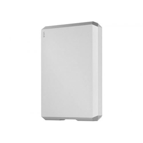 "LaCie 6.4cm (2,5"") 5TB Mobile Drive USB-C Moon Silver (STHG5000400)"