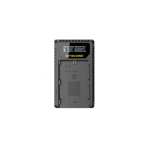 Nitecore UCN1 ładowarka USB  do baterii Canon (LP-E6/LP-E6N/LP-E8)