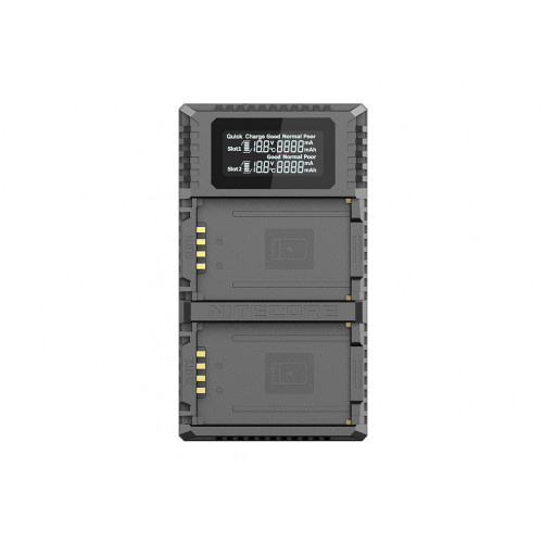 Nitecore ULM10 PRO ładowarka USB  do baterii Leica (BP-SCL5)