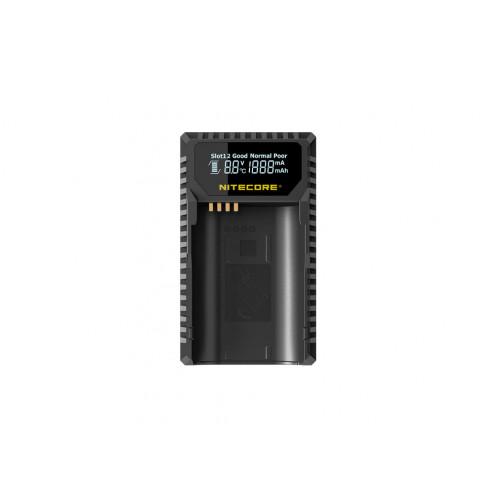 Nitecore ULSL ładowarka USB  do baterii Leica (BP-SCL4)