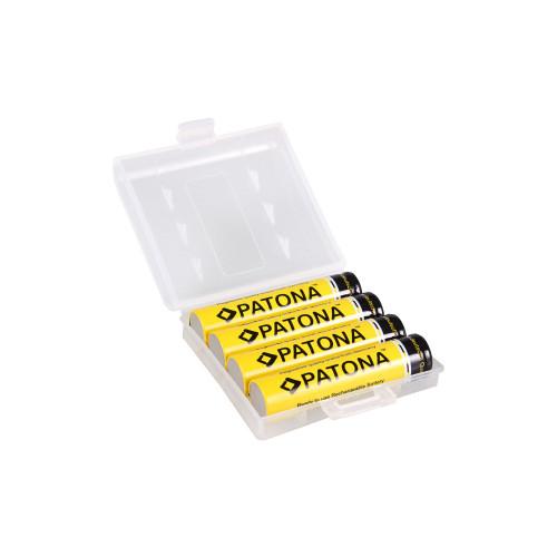 PATONA 1190 akumulatory AAA 4 sztuki w pudełku