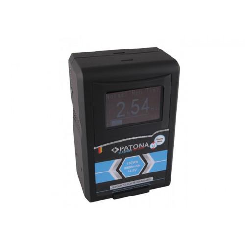 PATONA 1292 Platinum LCD Akku RED ARRI V-Mount 150Wh