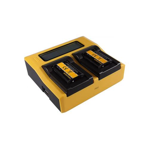 PATONA 7650 Podwójna ładowarka LCD USB do Sony NP-BX1