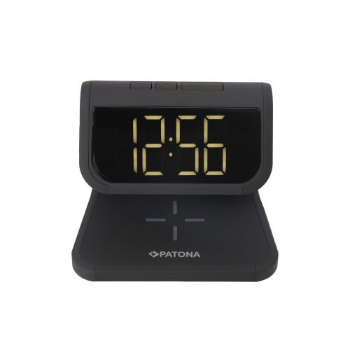 Patona 9888 Zegar z ładowaniem indukcyjnym