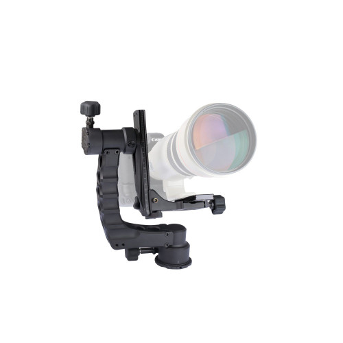 ProMediaGear (GK) Katana Gimbal Tripod Head Professional Telephoto Lens Support for Wildlife Photogr
