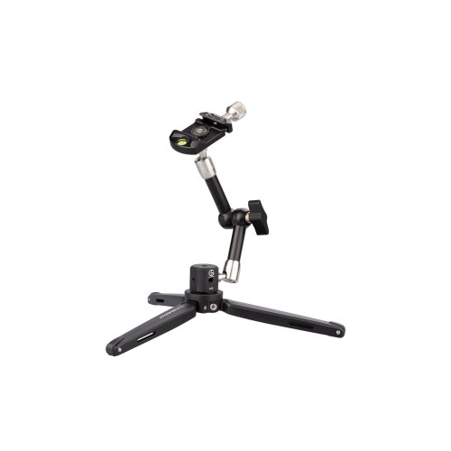 ProMediaGear (TR01) Mini Tripod with Friction Arm and Arca-Style Clamp
