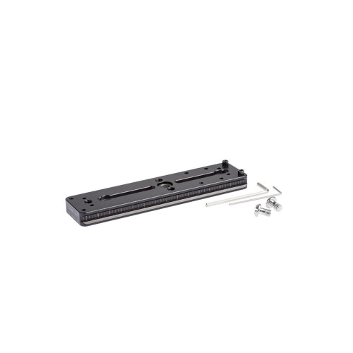 ProMediaGear (PX6QD) 6 inch Arca Dovetail Lens Plate with QD Quick Release Strap Adapter Port