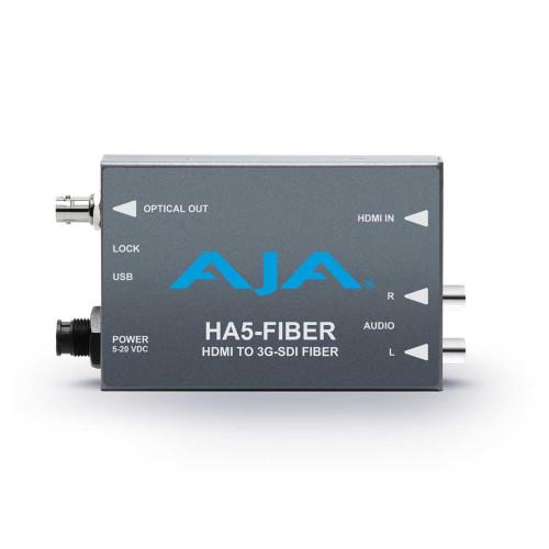 AJA HA5-Fiber z zasilaczem