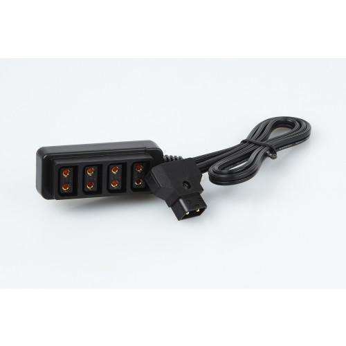 Beillen BL-C-BTL power tap connector 1-4 D-tap kit, male to female