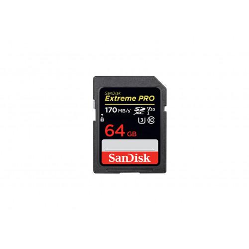 SanDisk SD Extreme Pro V30 64GB 170MB/s