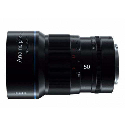 SIRUI 50mm F1.8 Anamorphic 1.33X Sony E