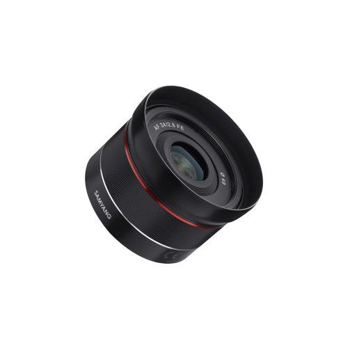 Samyang AF 24 mm F/1,8 Sony FE z filtrem Kenko 58 mm