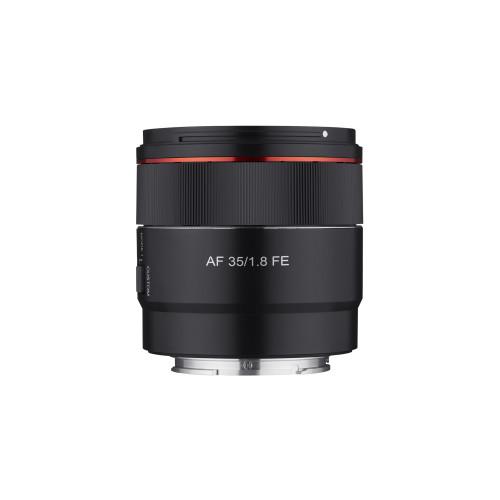 Samyang AF 35 mm F/1,8 Sony FE z filtrem Kenko 58 mm