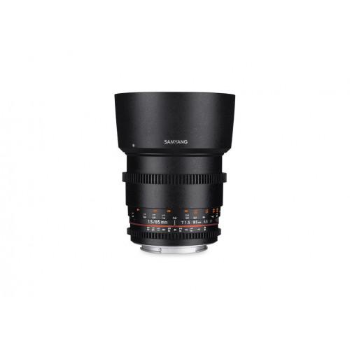 Samyang VDSLR II 85mm T1.5 Nikon F