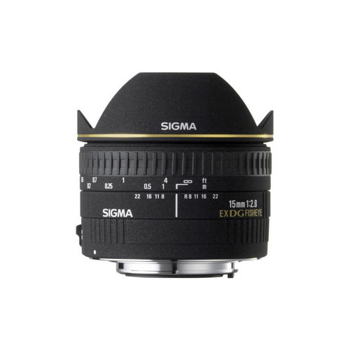 Sigma 15/2.8 EX DG fisheye diagonal CANON