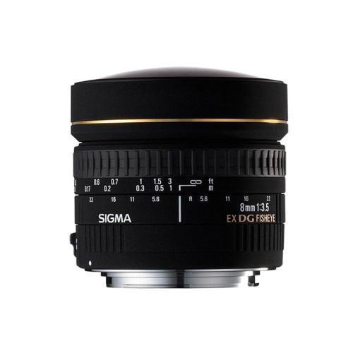 Sigma 8/3.5 EX DG fisheye circular NIKON