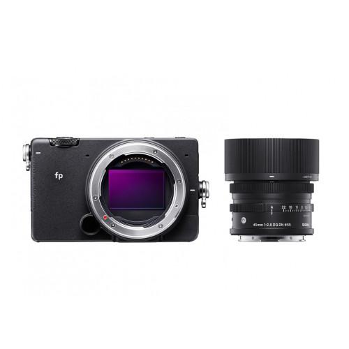 Sigma fp + obiektyw 45mm/2.8