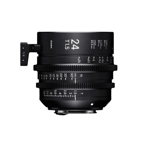 Sigma High Speed Prime Line 24mm T1,5 FF EF-Mount