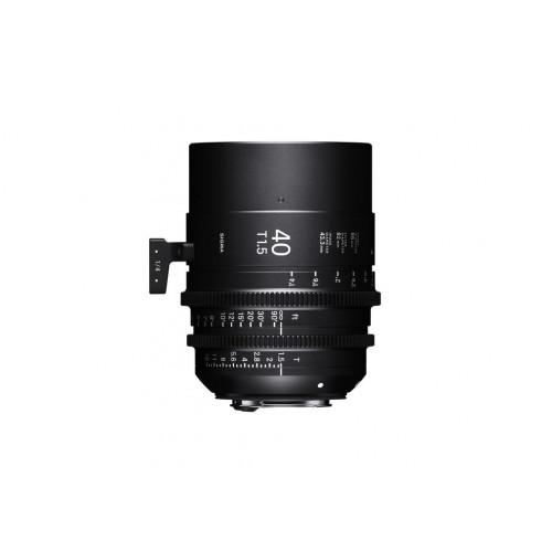 Sigma High Speed Prime Line 40mm T1.5 FF EF-Mount
