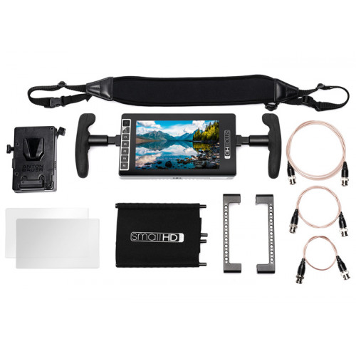 SmallHD 703 Ultra Bright Directors Kit -  V Mount