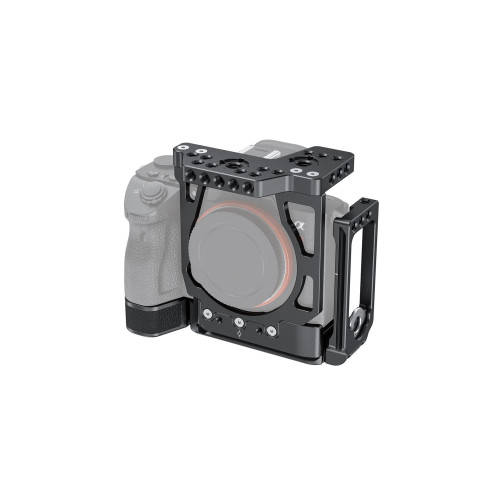SmallRig (CCS2236) Half Cage with Arca-Type L-Bracket for Sony a7 III and a7R III