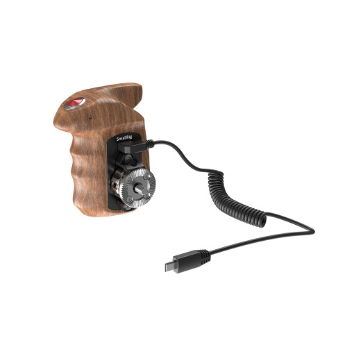 SmallRig (HSR2511) Right Side Wood. Hand Grip with Record Start/Stop Remote Trigger for Sony