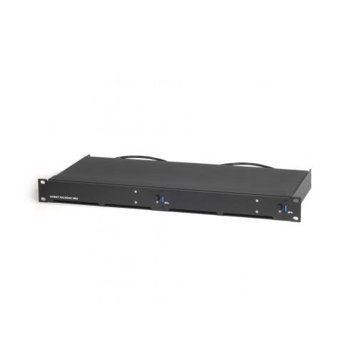 Sonnet 2018 RackMac mini - 1U Rack Kit for 2 Mac minis