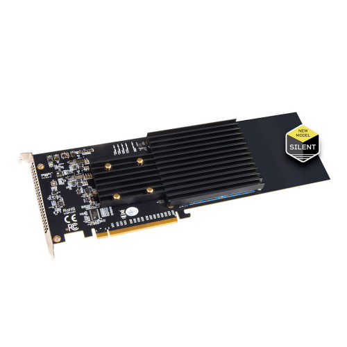 Sonnet Fusion SSD M.2 Silent 4x4 PCIe Card