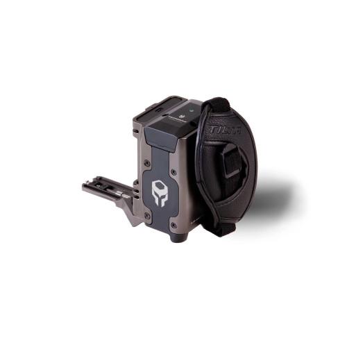 Tilta (TA-SH1-97-G) Side Power Handle Type I (F970 Battery) - Tilta Gray