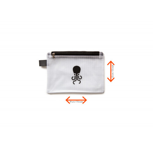 Tentacle Pouch in black
