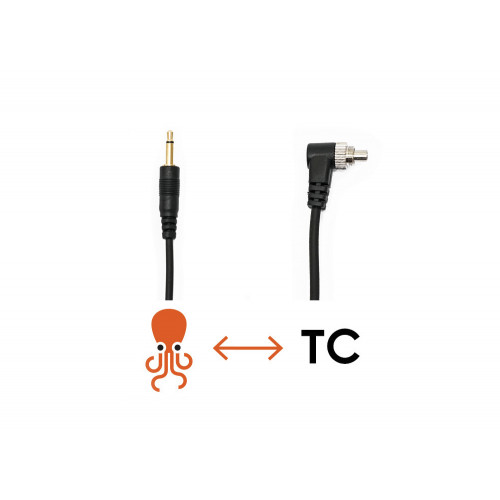 Tentacle to Flash Synchro cable