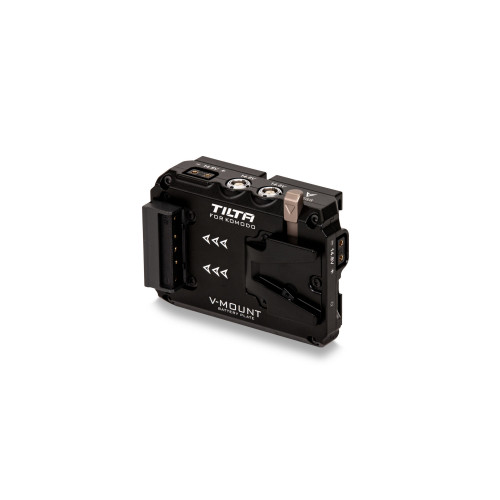 Tilta (TA-T08-BPV-B) Dual Canon BP to V-Mount Adapter Battery Plate for RED KOMODO