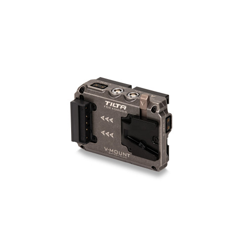 Tilta (TA-T08-BPV) Dual Canon BP to V-Mount Adapter Battery Plate for RED KOMODO - Tactical Gray