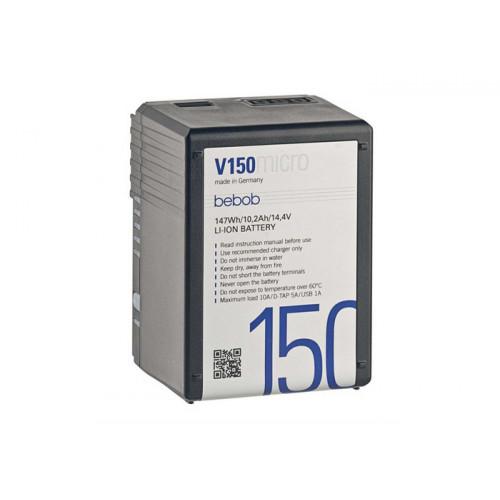 Bebob V150micro Battery 14,4V / 10,2Ah/ 147Wh
