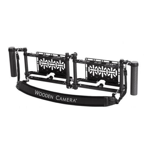Wooden Camera (271600) Dual Directors Monitor Cage v3