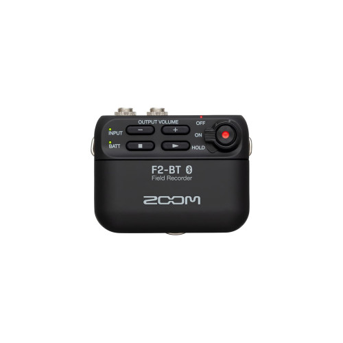 Zoom F2-BT Field Recorder with Bluetooth and Lavalier Mic