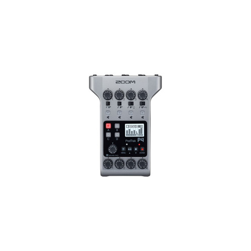 Zoom P4 PodTrak - Podcasting Mixer and Interface