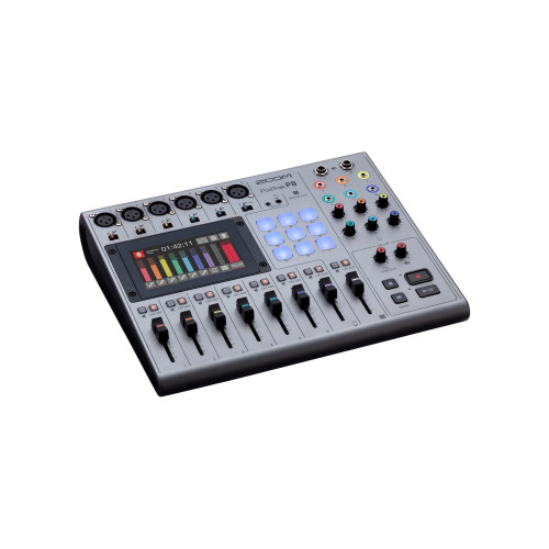Zoom P8 PodTrak - Podcasting Mixer and Interface