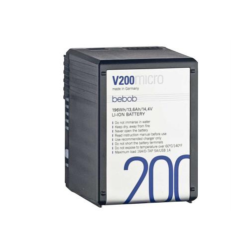 Bebob V200micro Battery 14.4V / 13,6Ah / 196Wh