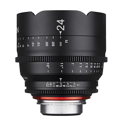 Samyang Xeen 24mm T1,5  EF