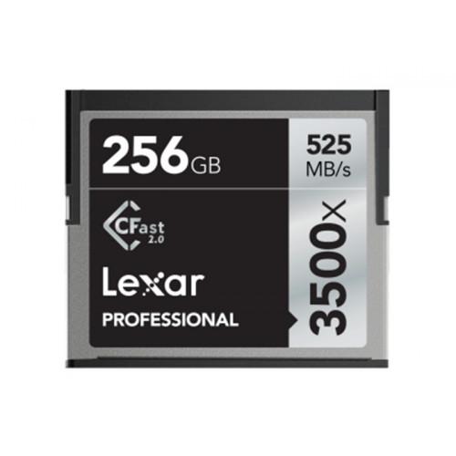 Lexar Pro 3500X CFAST (VPG-130) R525/W445 256GB