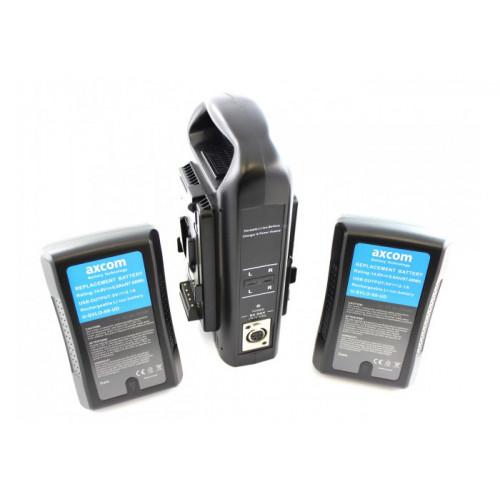 Axcom zestaw 2x U-SVLO-99-UD + SM-CPVM-2